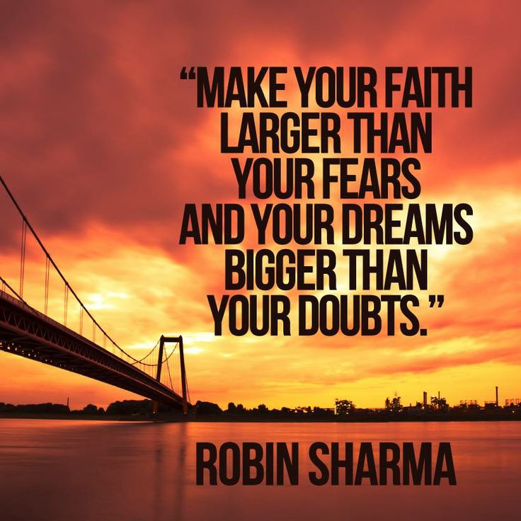 Robin Sharma Quotes Larger than fear