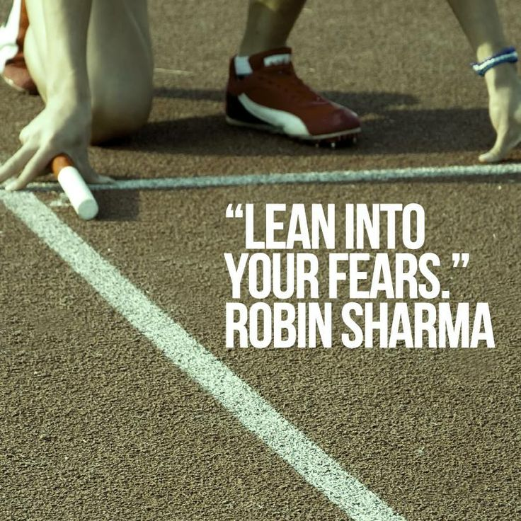 Robin Sharma Quotes lean fear