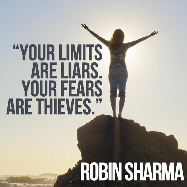 Robin Sharma Quotes fear limit